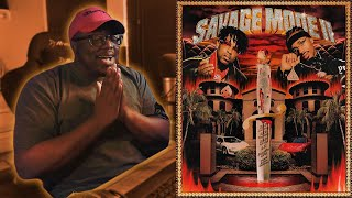IS SAVAGE MODE 2 ALBUM OF THE YEAR?! - FIRST REACTION/REVIEW