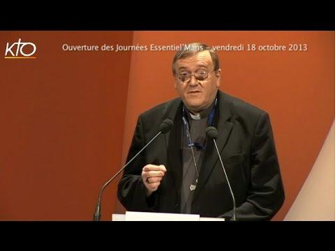 Ouverture des Journées Essentiel'Mans par Mgr Le Saux