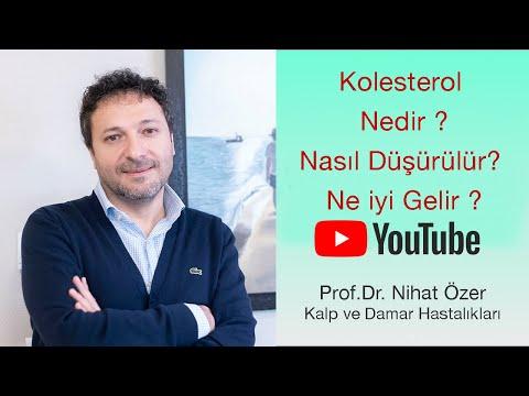Kolesterol | Nedir ? | Belirtileri | Nasıl Düşürülür? | Ne iyi Gelir ?| Prof. Dr. Nihat Özer
