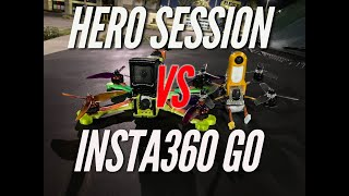 Gopro session vs Insta360 GO. Reelsteadygo vs insta360 fpv stabilization