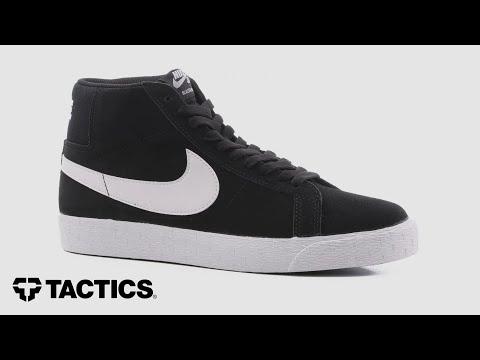 Nike SB Blazer Zoom Mid Skate Shoes Review - Tactics