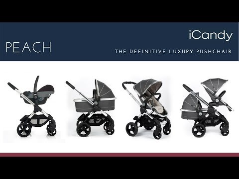 iCandy Peach Pushchair Store Demo – Direct2Mum