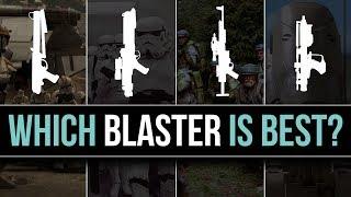 Which Star Wars Faction Has the BEST BLASTER? | Star Wars Legends Lore