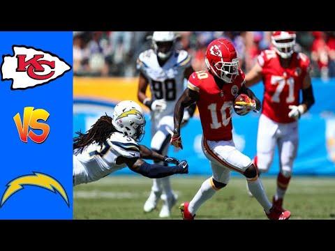 Kansas City Chiefs vs Los Angeles Chargers Full Highlights – Week 2 | NFL Season 2020