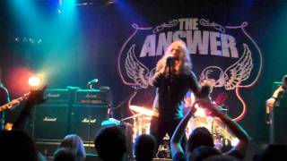 The Answer - Evil Man (27/01/2012 - Magasin 4 Brussels) [HD]