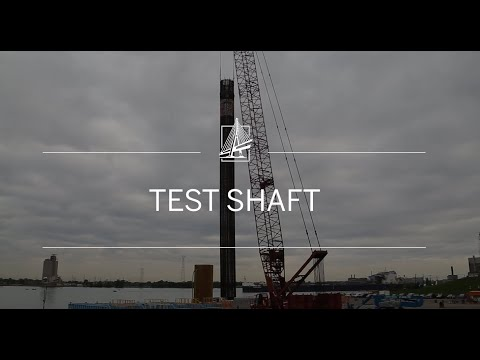 Test Shaft Installation