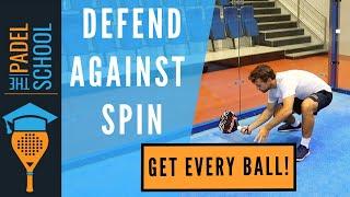 Hur du försvarar dig mot låga bollar med skruv
