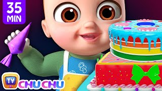 Pat A Cake Song + More ChuChu TV 3D Nursery Rhymes & Kids Songs