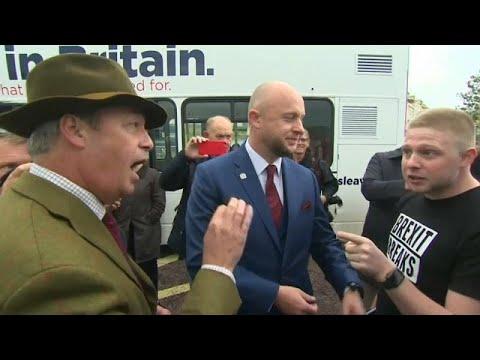 Επεισόδιο Φάρατζ με πολέμιο του Brexit μπροστά στις κάμερες…
