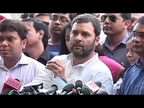 Rahul Gandhi attacks government over 'pro-builder' real estate bill