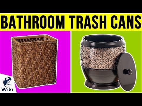 10 Best Bathroom Trash Cans 2019