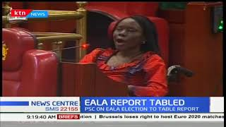 Two candidates disqualified from the EALA race over jobs