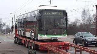 Elektrobuss uz Latvijas zemes 2016