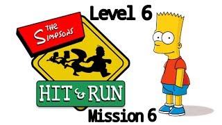 Неуловимый профессионал. The Simpsons. Level 6 - mission 6