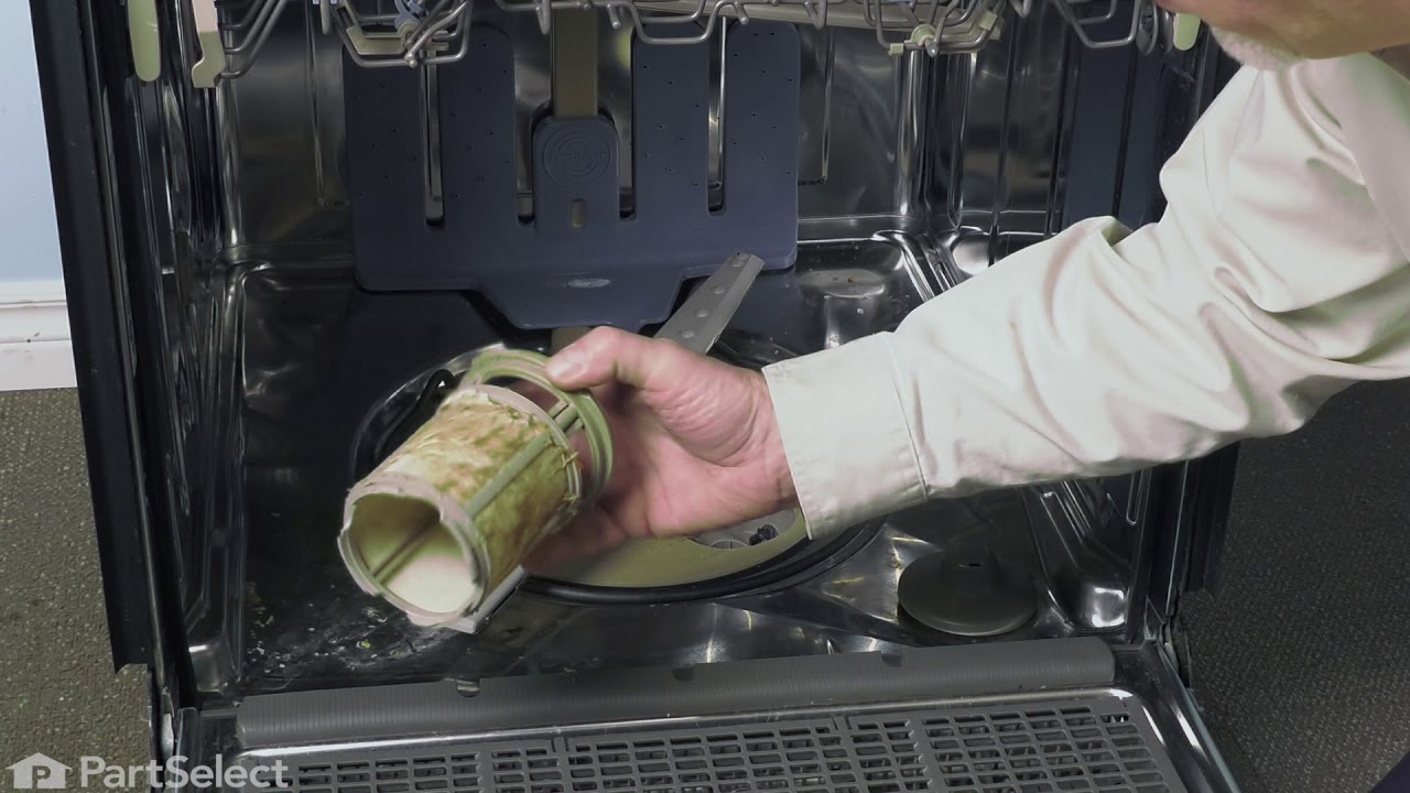 Replacing your Whirlpool Dishwasher FILTER