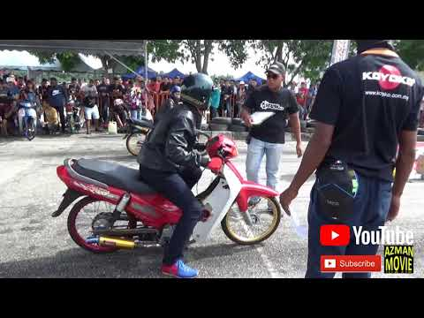 4T 120cc cutting cup prix Drag Racing Kubang Menerong Apr 2018