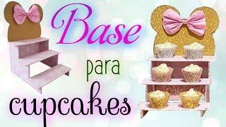 BASE DE CARTÓN PARA CUPCAKES  DISNEY / Cupcakes Stand  DIY
