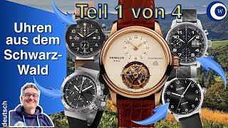 17 Schwarzwald Uhrenmarken (1/4)| weltbekannt, exklusiv, modern + klassisch