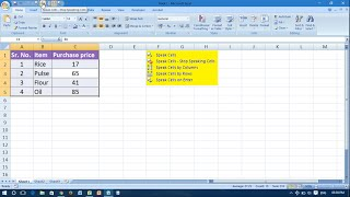 Turn On/Off Speak Cells Command - Excel 2007
