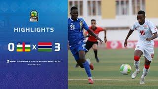République centrafricaine 0-3 Gambie
