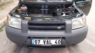 freelander motor içi kurum temizleme