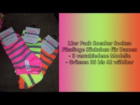 12er Pack Sneaker Socken von Good-Deal-Market - Produkttest 2016