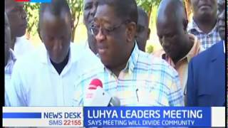 Amos Wako dismisses planned Bukhungu Western leaders meeting organised by Francis Atwoli