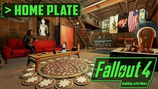 The Most Aesthetic Homeplate - Building with Mods - Fallout 4