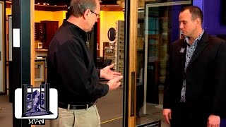 MVTV - Big Doors with Rocky Mountain Hardware Flush Pull Handle