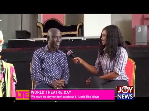 Uncle Ebo Whyte talks about theatre - Let's Talk Entertainment on JoyNews (27-3-18)