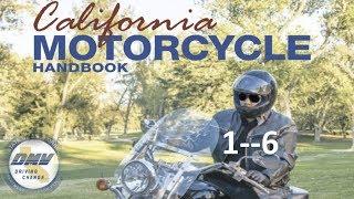 "DMV Motorcycle License Handbook """"""(AUDIO)""""""........1--6"