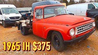 Copart Walk Around 2-15-2020 + Cheap 1965 International Harvester 1200!!