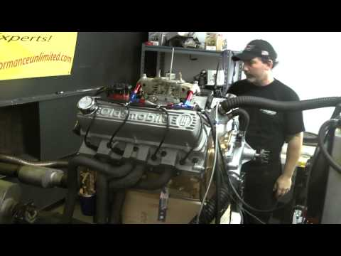 Oldsmobile 350 with 400 HP with Edelbrock aluminum heads
