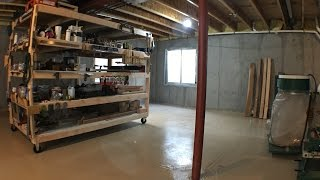 A Quick Update on the New Shop