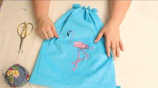 Mochila O Tula Superfácil De Hacer *DIY Paso A Paso */cloth Bag/backpack Easy To Make