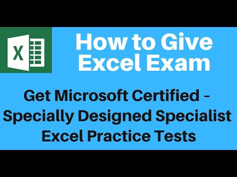 How to Get Microsoft Excel Certified - YouTube