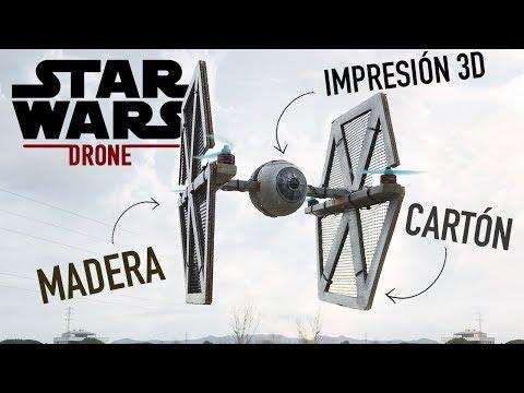 EL DRONE DE STAR WARS | INCLUYE BATALLA ÉPICA