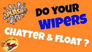 How To Fix Chattering Windshield Wiper Blades