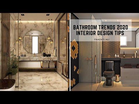 BATHROOM TRENDS 2020 | INTERIOR DESIGN TIPS | TOP 10