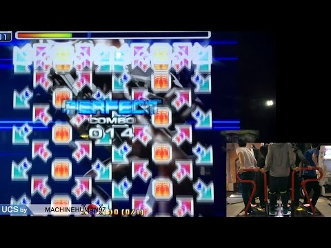 This korean Rhythm game arcade game requires 5 players to complete this chart because of how difficult it is.