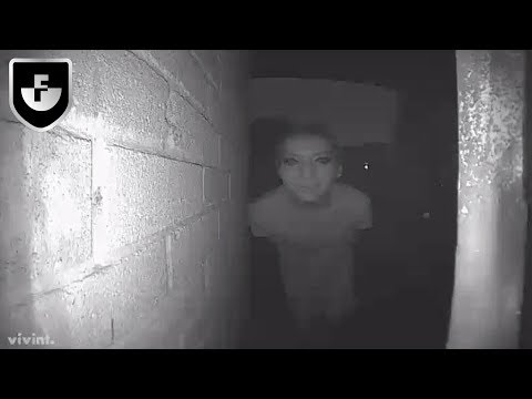 7 Creepiest Things Caught On Security Cameras (видео)