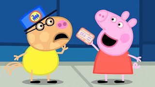 Best of Peppa Pig | The Train Ride | Cartoons for Children
