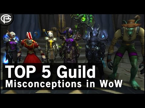 Top 5 Guild Misconceptions