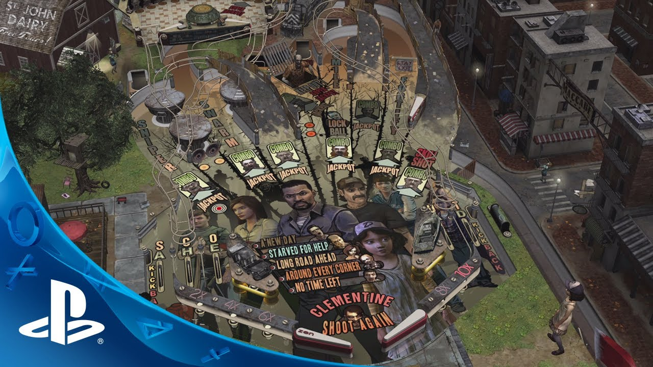The Walking Dead Coming to Zen Pinball 2 on PS4, PS3, PS Vita