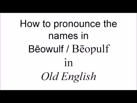 Download How to Pronounce the Names in Bēoƿulf / Beowulf Mp4 HD Video and MP3