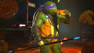 Injustice 2 - TMNT Donatello using Staff of Grayson (PC Mod)