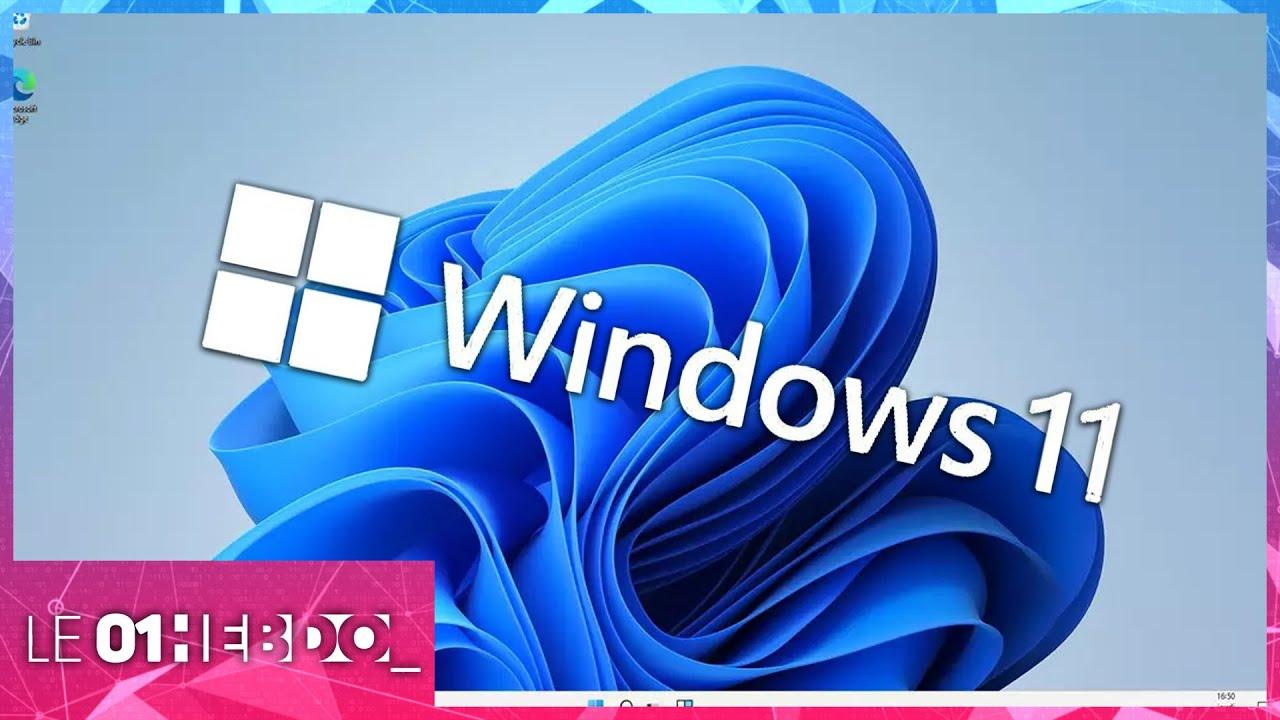 01Hebdo #323 : Windows 11, les premières impressions