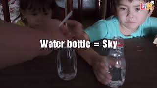 Why is the sky blue? Homeschool. STEM. Science Experiment