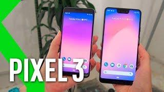 Pixel 3 y Pixel 3 XL, primeras impresiones: la MEJOR CÁMARA se logrará vía software