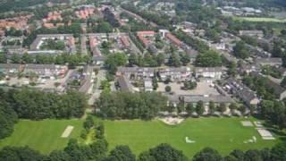 Helikoptervlucht boven Oisterwijk